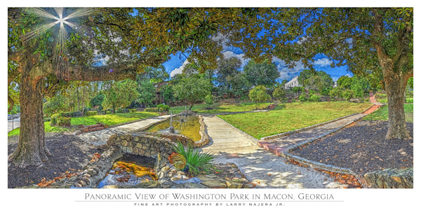 Washington Park from Magnolia Street Entrance
