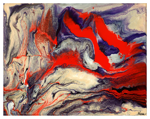 Topography V Original Abstract Art Online