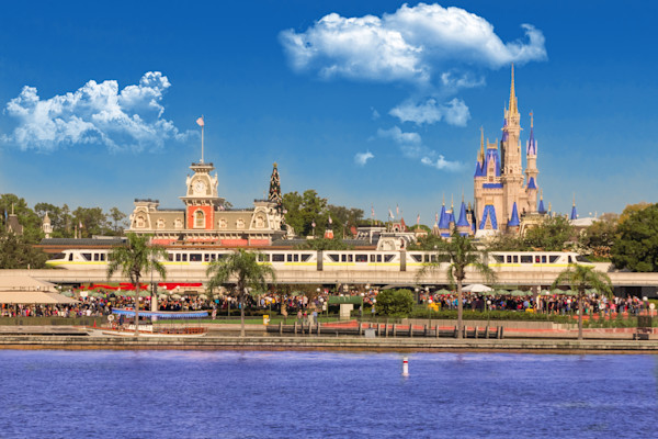 Magic Kingdom Photos - Fine Art Prints on Canvas, Paper, Metal & More by William Drew Photography!