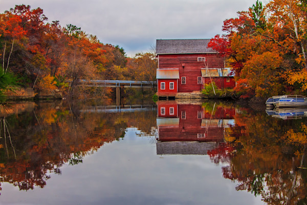 Dells Mill Reflection Photograph for Sale as Fine Art