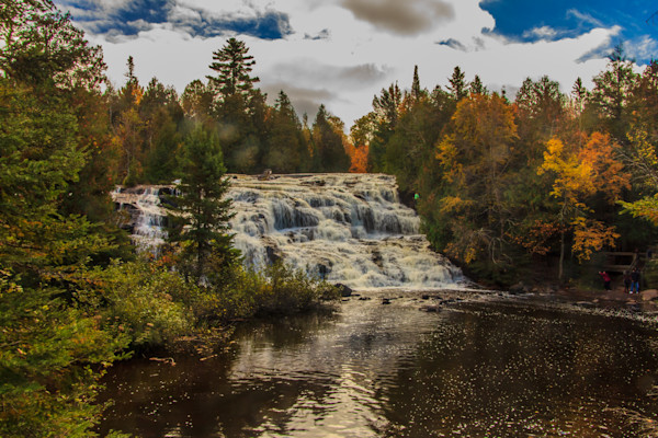 Bond Falls in Autumn Photograph for Sale as Fine Art
