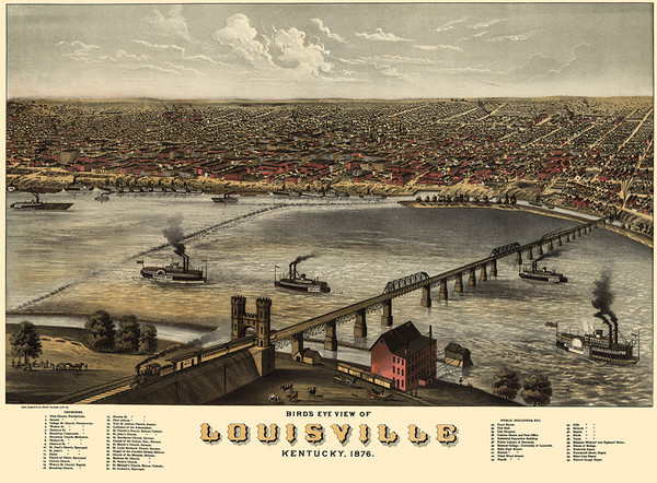 Louisville, Kentucky 1876