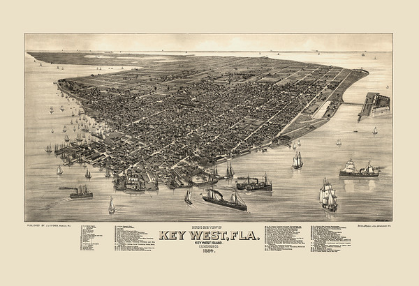 Key West, Florida 1884