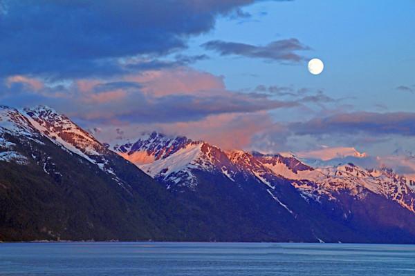 10 PM Sunset-Alaska