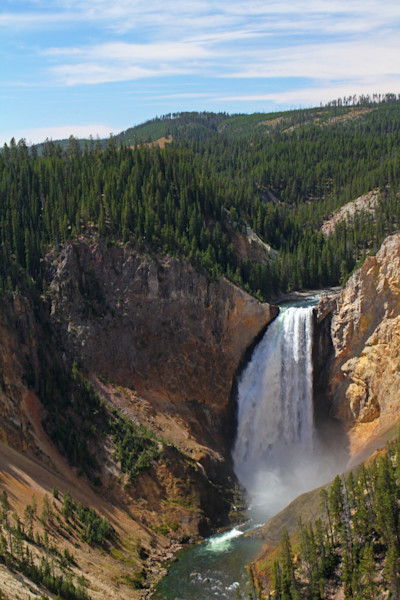 Yellowstone-Falls-far view