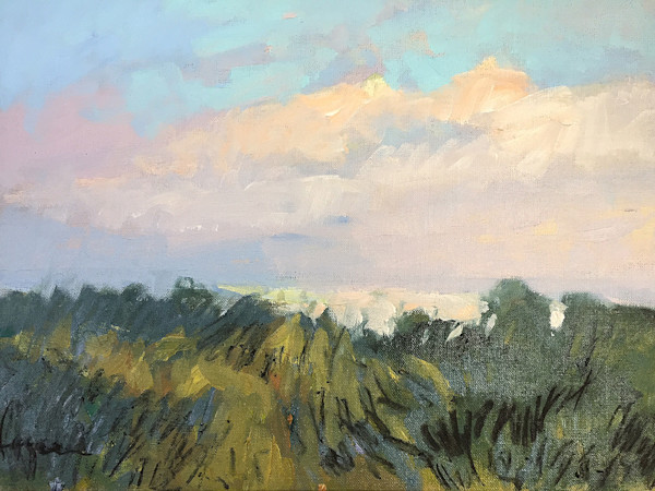 Sunrise in the Dunes | Original Painting Dorothy Fagan Collection