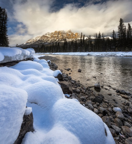 Art Photographs from Abraham Lake and the Canadian Rockies