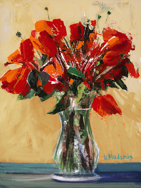 Floral Painting Original by Diana Madaras | Miro's Ranch Flowers
