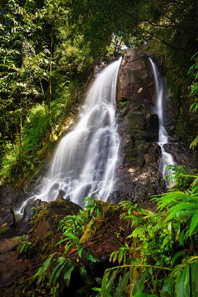 Luakaha Falls Framed