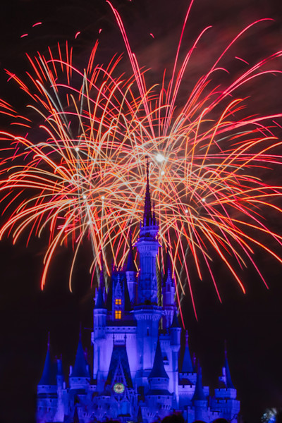 Wishes and Cinderella's Castle Photograph for Sale as Fine Art