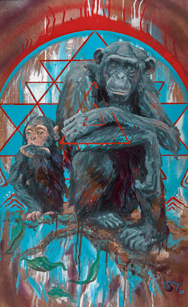 Hominini by Steven Teller for Sale