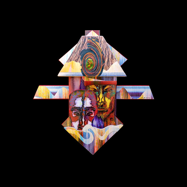 Soul inspiring mixed media artwork embodying depth, diversity, beauty & healing.