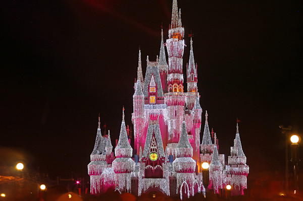 Christmas at Disney Photograph for Sale as Fine Art