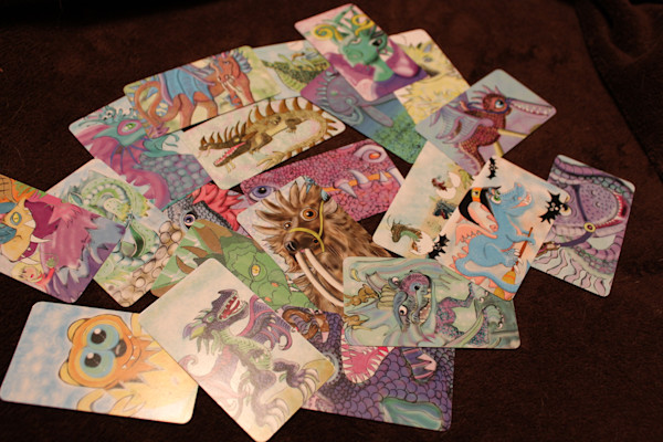 Dragon Playing Cards And Collector Cards