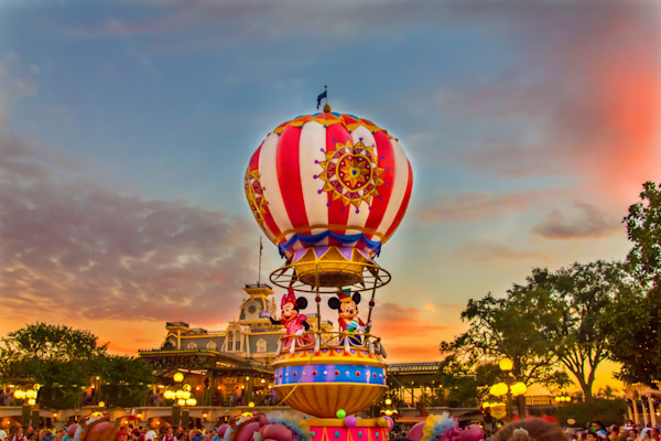Disney Parade Photograph for Sale as Fine Art