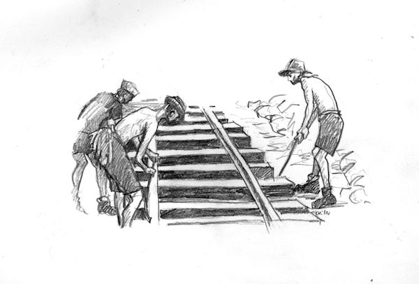 Burma Railroad Workers