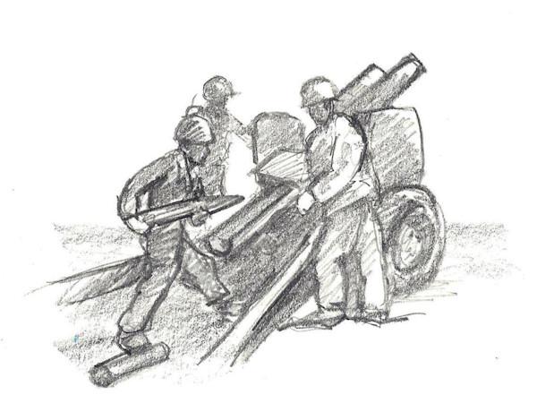 Howitzer Loading