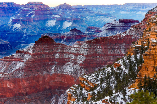 A Grand Canyon Winter