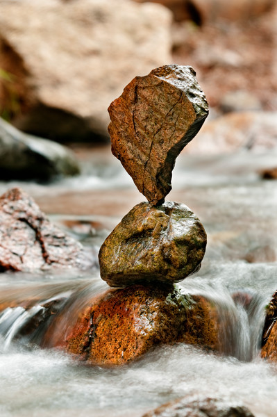 Exclamation Point Rock Balance
