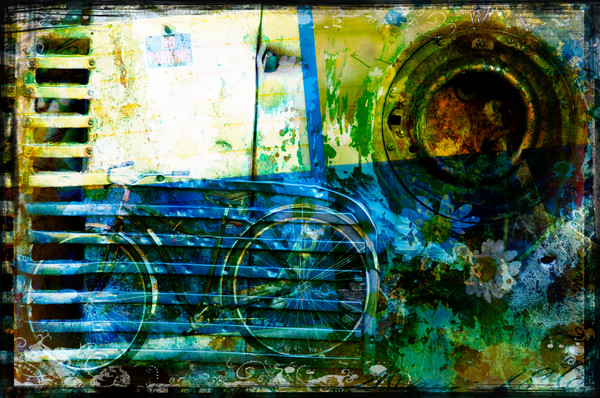 Old time travel abstract