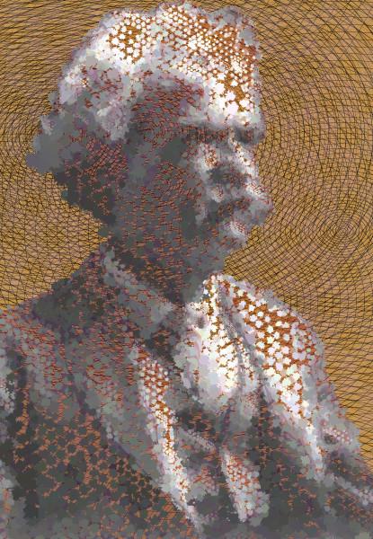 Mark Twain American Writer Born: Samuel Langhorne Clemens Vector Art Print at VectorArtLabs.com