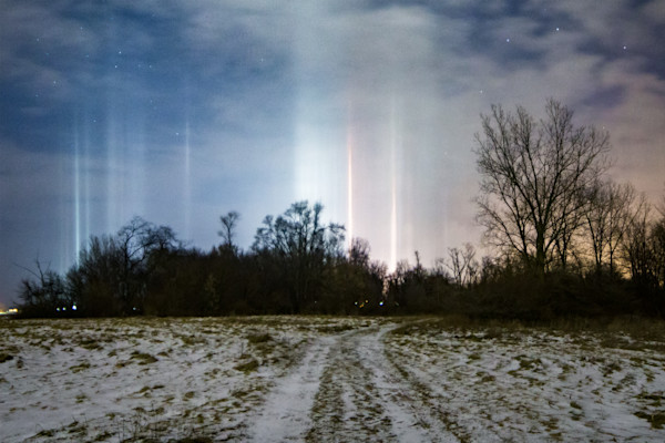 Road to Light Pillars