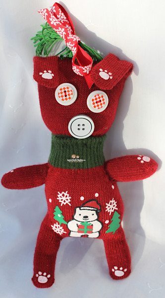 Holiday Stinky Feet Babies Sock Dolls