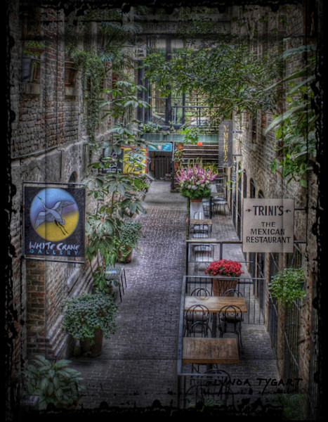 Lynda Tygart Passageway Old Market Omaha Nebraska – Fine Art Photographs Prints on Canvas, Paper, Metal and More.