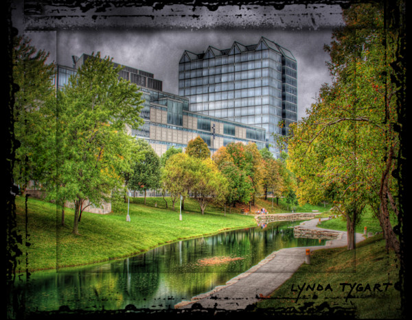 Lynda Tygart Leahy Park Old Market Omaha Nebraska – Fine Art Photographs Prints on Canvas, Paper, Metal and More.