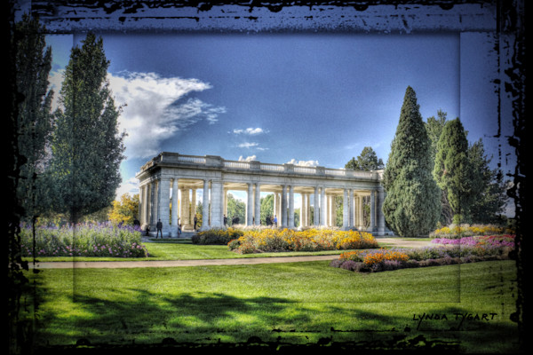 Lynda Tygart Fine Art Photographs Prints of Cheesman Park in Denver Colorado  on Canvas, Paper, Metal & More.