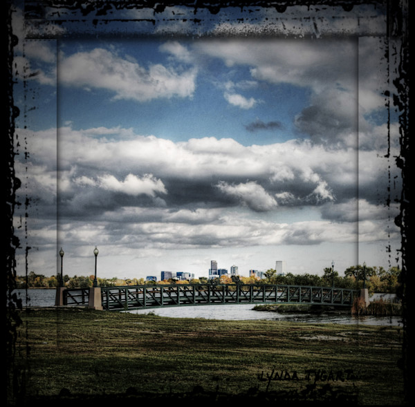 Lynda Tygart Fine Art Photographs Prints of the Denver Skyline in Denver Colorado in Sloan's Lake Neighborhood on Canvas, Paper, Metal & More.