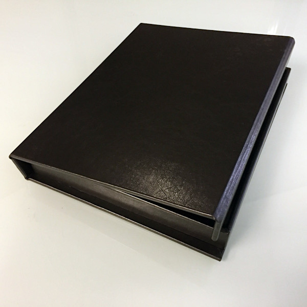 11x14 Leather Photo Book - Black