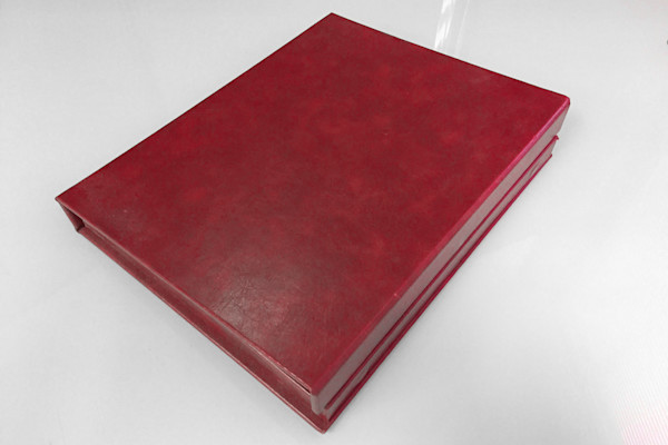 8x10 Leather Photo Book - Red