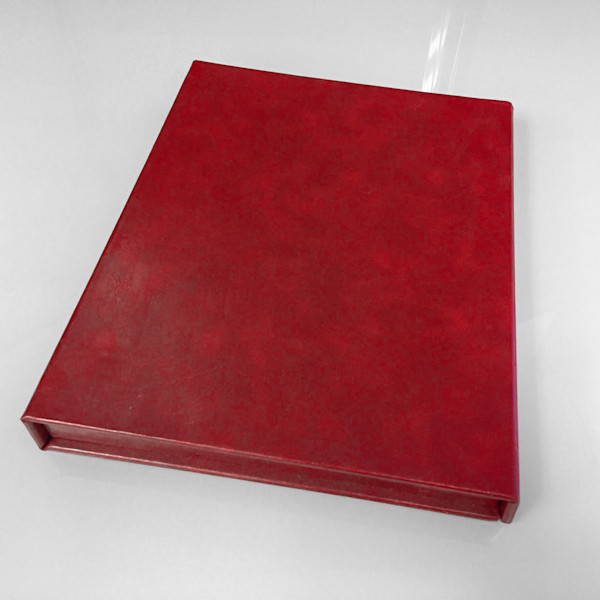 11x14 Leather Photo Book - Red