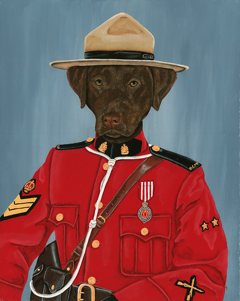 Makie The Mounty