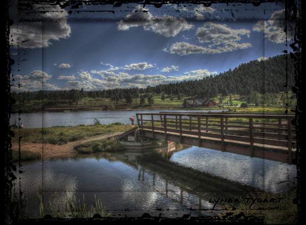 Lynda Tygart Evergreen Colorado Lake near Mountain – Fine Art Photographs Prints on Canvas, Paper, Metal & More.