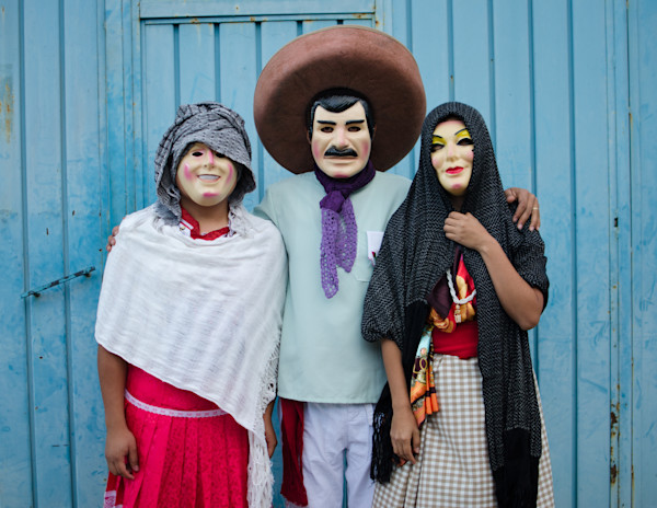 Masked In Played Roles | Fine Art Travel Photographs