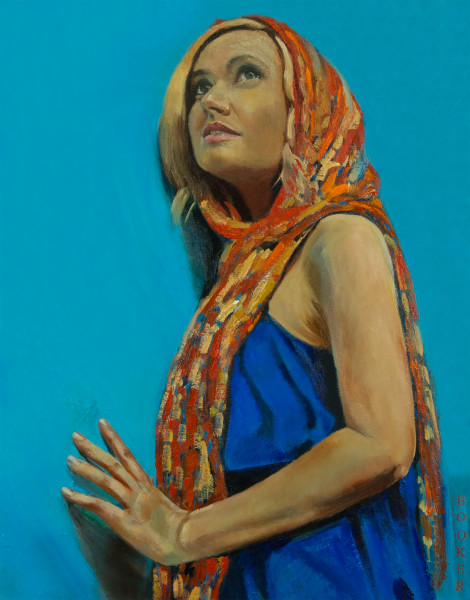 Booker,Tueller,figurative,pensive,figurative, art, paintings