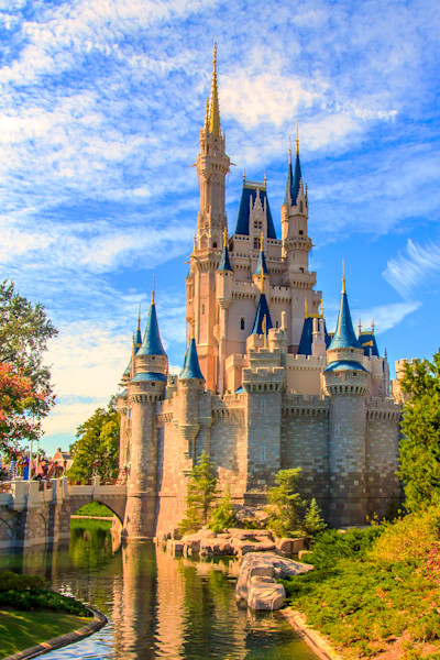 Magic Kingdom Castle Photograph for Sale as Fine Art