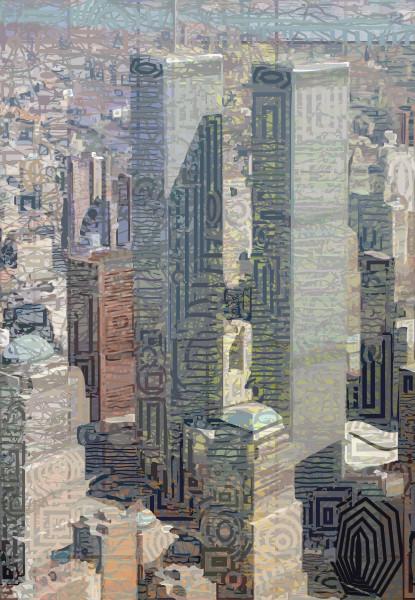 World Trade Center Photographic Print by David Marshall at VectorArtLabs.com