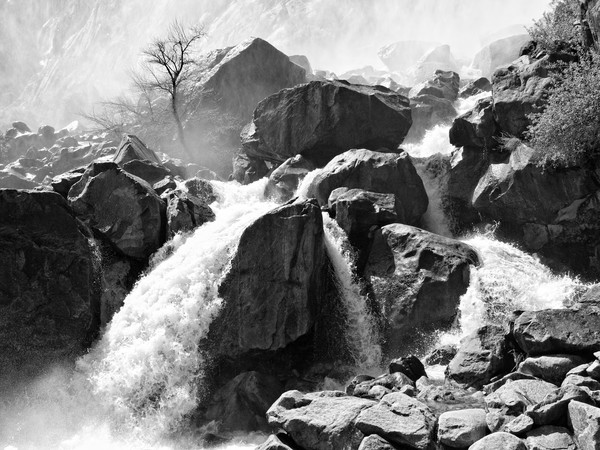 Wapama Waterfall at Hetch Hetchy