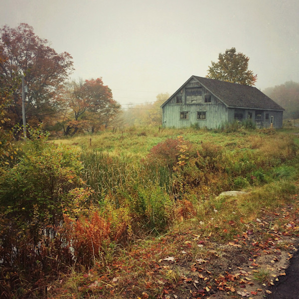 Autumn Barn photograph - for sale as fine art prints