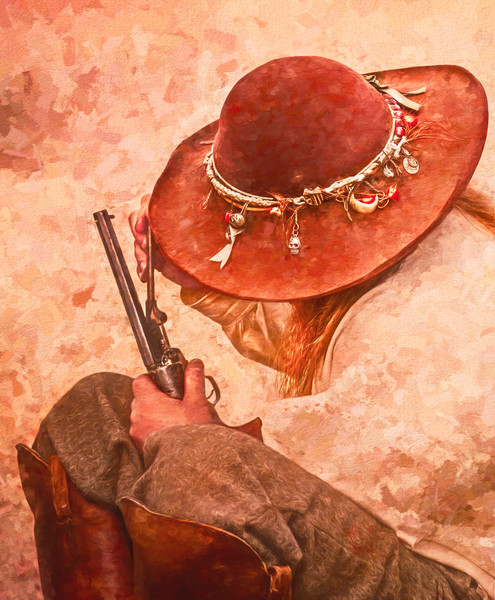 Civil War Gunsmith 44 Cal Handgun|Wall Decor fleblanc