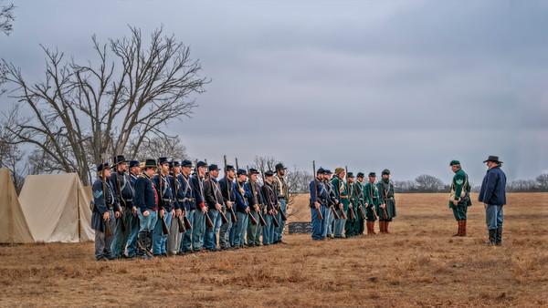 Civil War Formation Full Color|Wall Decor fleblanc