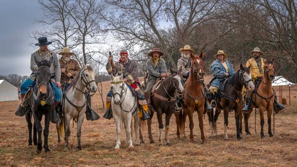 Civil War Cavalry Horseback Riders|Wall Decor fleblanc