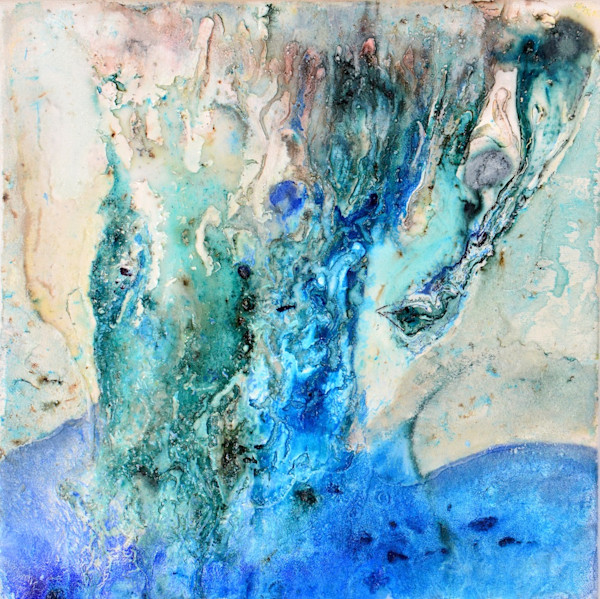 Waterfall Painting - Prints by Mario Guerra
