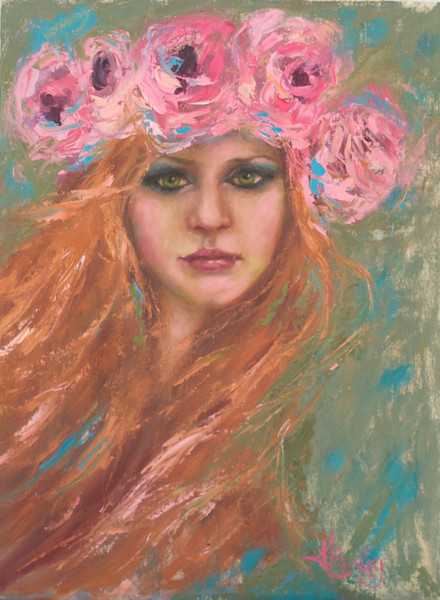 Bohemian Wild Art by Kelly Berkey