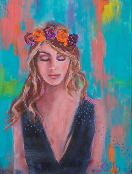 Free Spirit Painting by Kelly Berkey