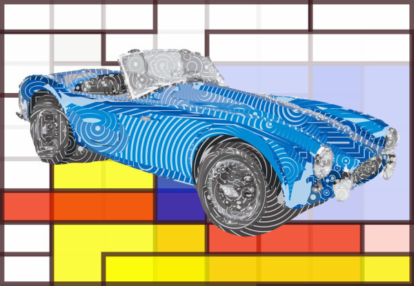 Automobile art, Car art, Automobiles & Cars, Posters, Prints, canvases at VectorArtLabs.com