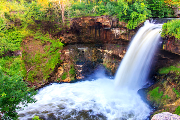 Minnehaha Falls Photograph for Sale as Fine Art